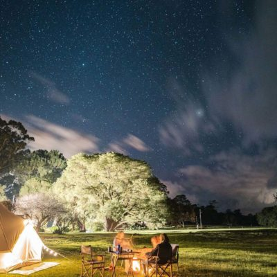 Camping Under The Stars Big